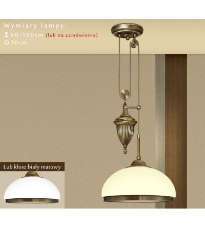 Lampa klasyczna mosiężna R-S1PDE