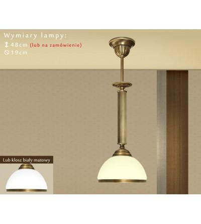 Lampa sufitowa z mosiądzu R-S1BE