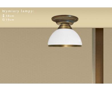 Niska lampa mosiężna R-PL1G