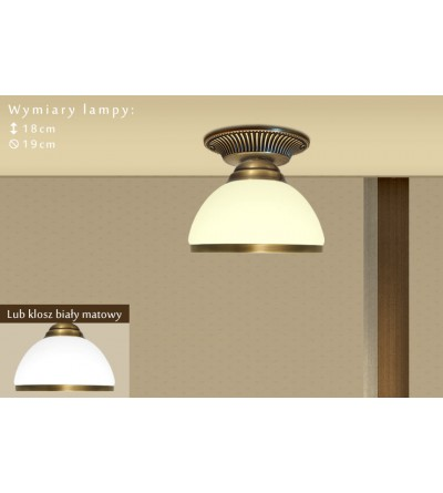 Klasyczna lampa sufitowa R-PL1GE