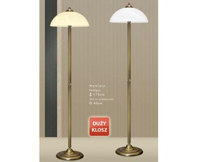 Lampa podłogowa mosiężna H-P1D