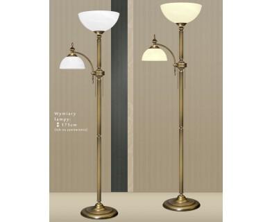 Mosiężna lampa podłogowa H-P2