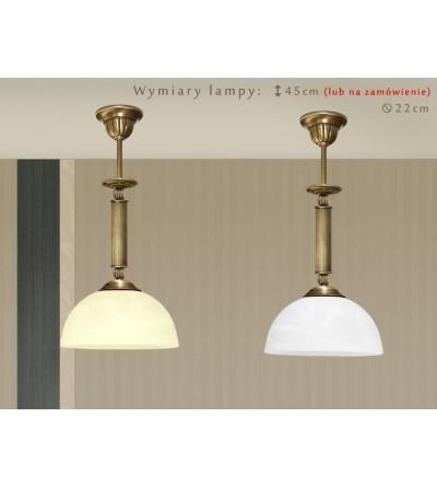 Lampa sufitowa z mosiądzu H-S1M