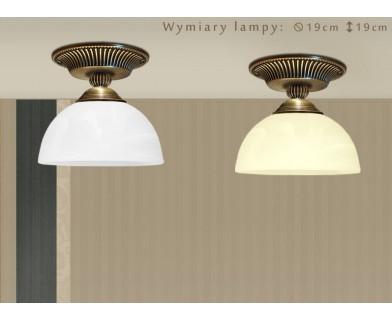 Niska lampa mosiężna H-PL1G