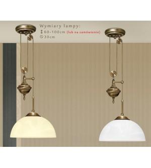 Mosiężna lampa z przeciwwagą H-S1P
