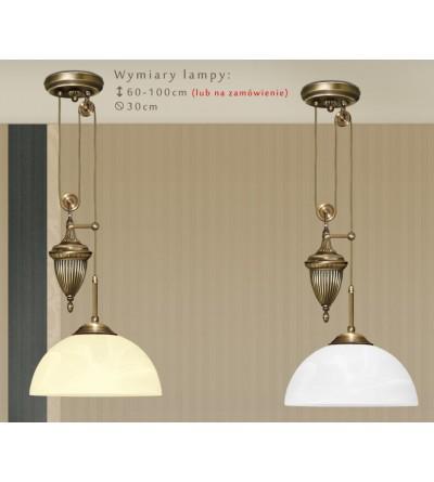 Lampa sufitowa mosiężna H-S1PD
