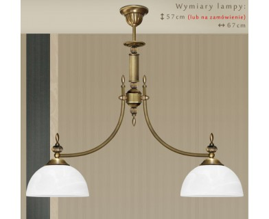 Klasyczna lampa sufitowa H-S2WK