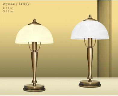 Lampa biurkowa z mosiądzu P-B1G
