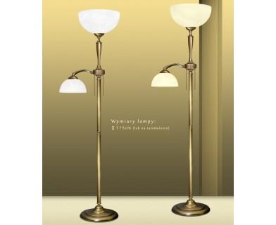 Mosiężna lampa podłogowa P-P2