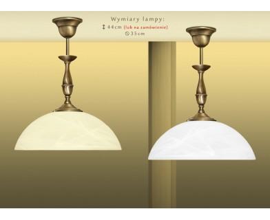 Lampa klasyczna z mosiądzu P-S1C