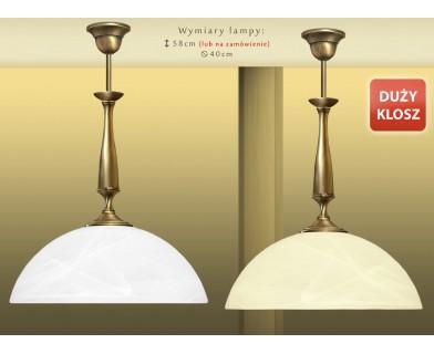 Lampa sufitowa z mosiądzu P-S1D