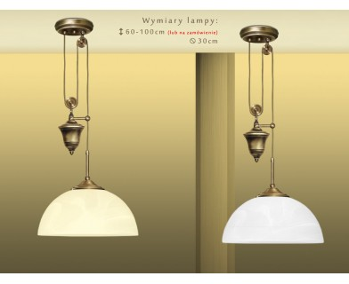 Lampa z przeciwwagą P-S1P