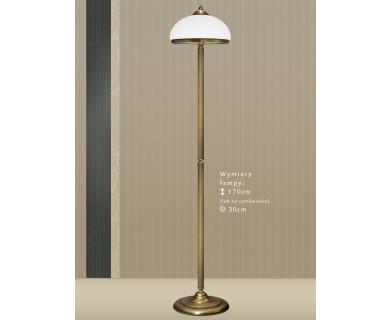 Mosiężna lampa podłogowa HR-P1