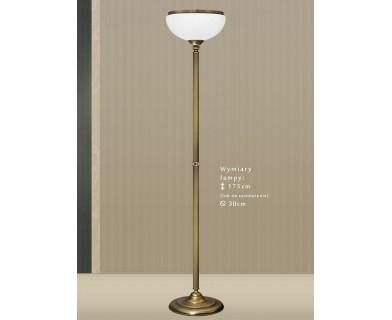 Lampa podłogowa mosiężna HR-P1A