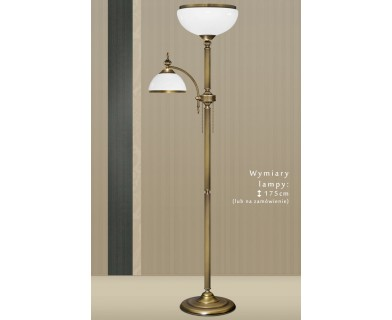 Klasyczna lampa podłogowa HR-P2