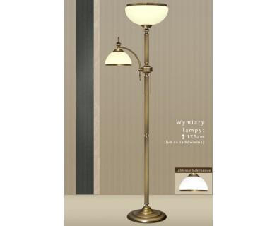 Lampa podłogowa mosiężna HR-P2E
