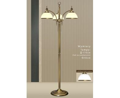 Lampa podłogowa z mosiądzu HR-P3E