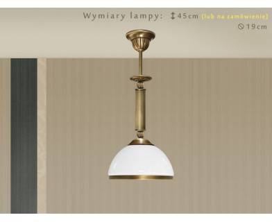 Klasyczna lampa sufitowa HR-S1M