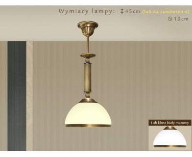 Lampa klasyczna mosiężna HR-S1ME