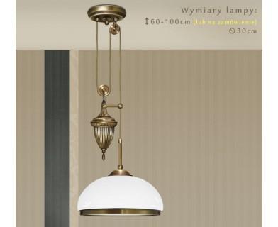 Mosiężna lampa nad stół HR-S1PD