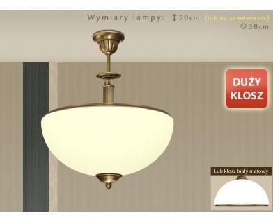 Lampa sufitowa mosiężna HR-S1ADE