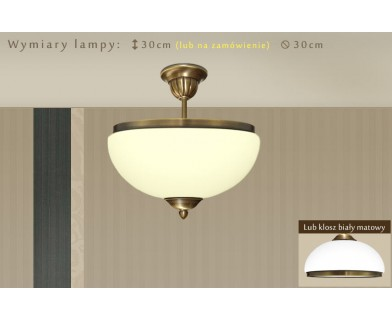 Lampa sufitowa mosiężna HR-S1AKE