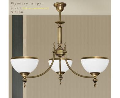 Mosiężna lampa 3-punktowa HR-S3AK