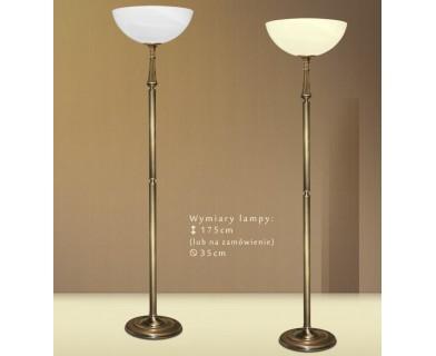 Mosiężna lampa podłogowa E-P1A