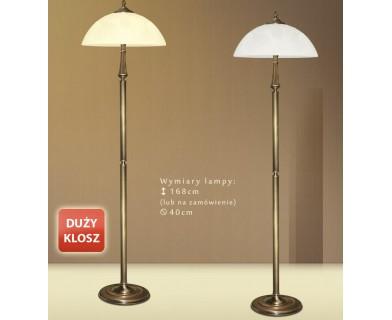Lampa podłogowa mosiężna E-P1D