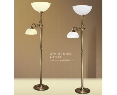 Lampa podłogowa z mosiądzu E-P2