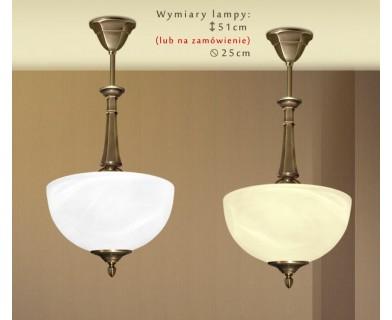 Lampa klasyczna mosiężna E-S1AC