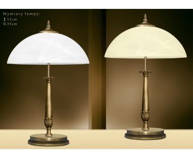 Lampa gabinetowa mosiężna N-B2B