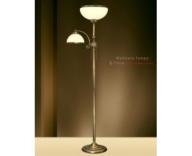 Lampa podłogowa mosiężna NR-P2E