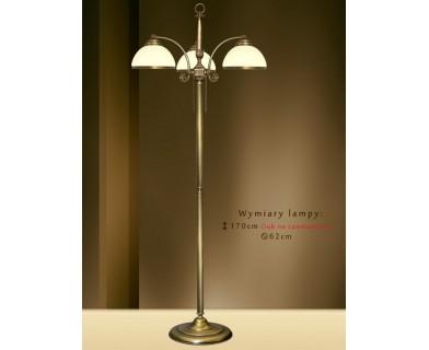 Mosiężna lampa podłogowa NR-P3E