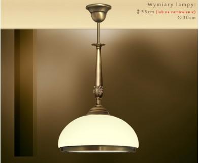 Lampa sufitowa z mosiądzu NR-S1E