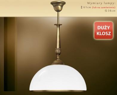 Lampa sufitowa mosiężna NR-S1D