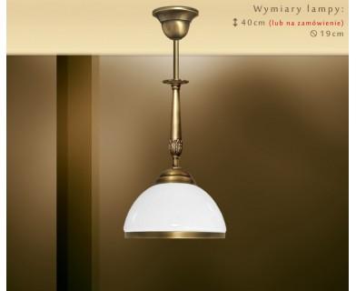 Lampa klasyczna z mosiądzu NR-S1M