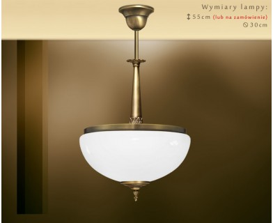 Lampa sufitowa mosiężna NR-S1A