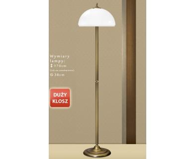 Lampa podłogowa mosiężna BM-P1D