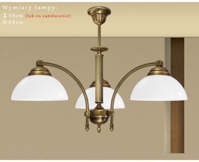 Mosiężna lampa 3-punktowa BM-S3