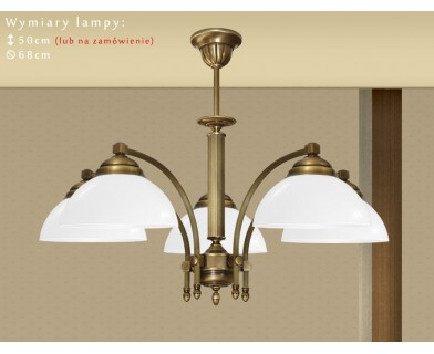 Mosiężna lampa 5-punktowa BM-S5