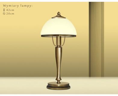 Lampa stołowa z mosiądzu PR-B1GE