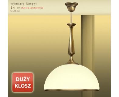 Lampa mosiężna PR-S1DE