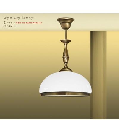 Lampa sufitowa z mosiądzu PR-S1C