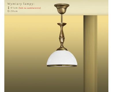 Lampa sufitowa z mosiądzu PR-S1CM