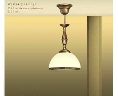 Lampa klasyczna mosiężna PR-S1CME