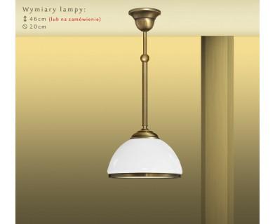 Lampa klasyczna z 1 kloszem PR-S1M