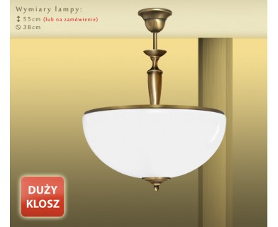 Lampa klasyczna mosiężna PR-S1AD