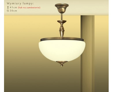 Klasyczna lampa sufitowa PR-S1ACE