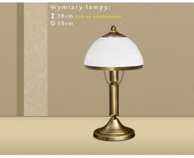 Lampa stołowa z mosiądzu DR-B1B